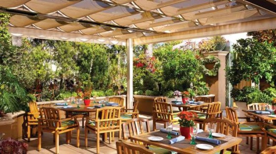 Cabana Restaurant at Four Seasons, Beverly Hills