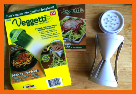 "Review of Veggetti: Turning Veggies into Spirals of ""Pasta"""