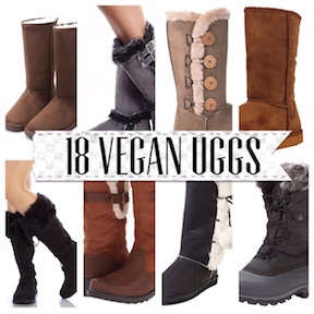 Just because you want boots to keep you warm and stylish, that doesn't mean that you need UGGs! Go leather-free, suede-free and shearling-free and stay warm ...