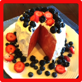 http://veganamericanprincess.com/4th-of-july-edition-the-patriotic-amazing-easy-no-bake-watermelon-cake/