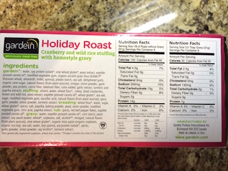 For Any Day Of The Week Gardein Holiday Roast With Sides
