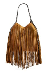 Stella McCartney Small Falabella Fringe Tote (V)