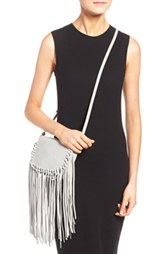 Fringe Faux Leather Crossbody Bag by Street Level (V)