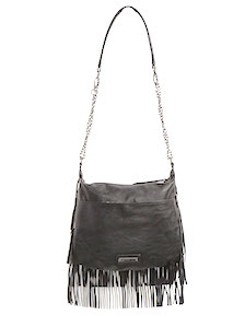 Madden Girl Fringe Crossbody Bag (V)