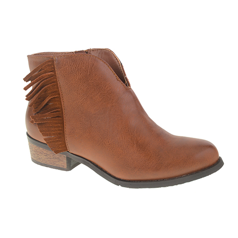 Dirty Laundry Chitchat Fringe Ankle Boot (V)